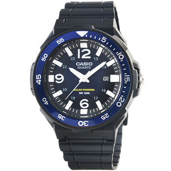 CASIO 卡西歐光動能運動錶-藍 X 黑 / MRW-S310H-2B (原廠公司貨)