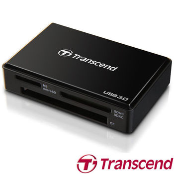 【Transcend 創見】 RDF8 USB 3.0 多功能讀卡機