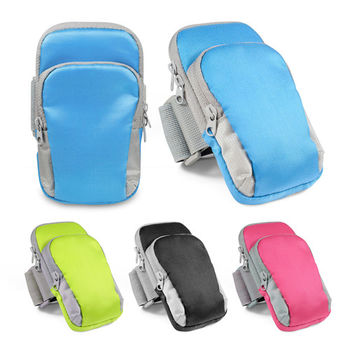 【健康路跑組】雙袋運動手機臂套+M3耳塞線控式耳麥