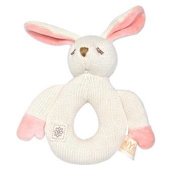 miYim有機棉 咬咬牙 固齒器 兔兔