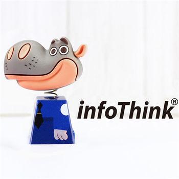 InfoThink ZOOTOPIA 河馬搖頭造型隨身碟 16GB