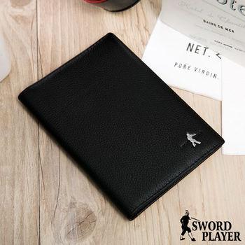 SWORD PLAYER - 商務菁英專屬真牛皮款多卡式護照夾