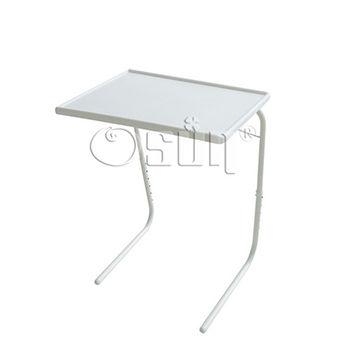 【Osun】DIY白色升降書桌餐桌CE-205