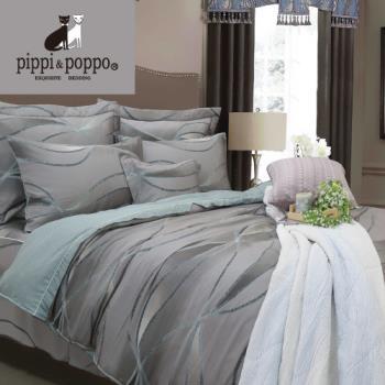 【R.Q.POLO】幻影夢境 60支100%天絲雙人加大七件式床罩組(6X6.2尺)
