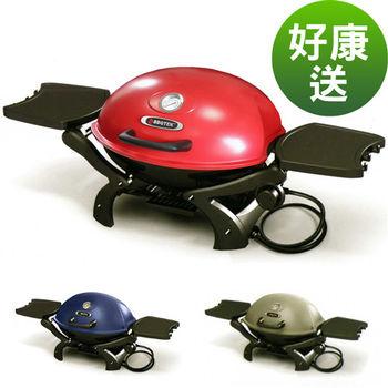 【烤爐行家】戶外便攜式-高級鋁合金六合一瓦斯烤肉爐(限用液化瓦斯)紅色-贈鑄鐵烤盤