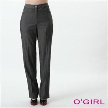 【OGIRL】OL百搭修身西裝褲