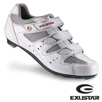 【EXUSTAR】公路車鞋 (白)