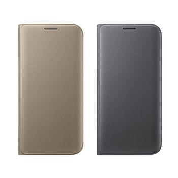 SAMSUNG GALAXY S7 Edge 原廠書本翻頁式皮套(盒裝)