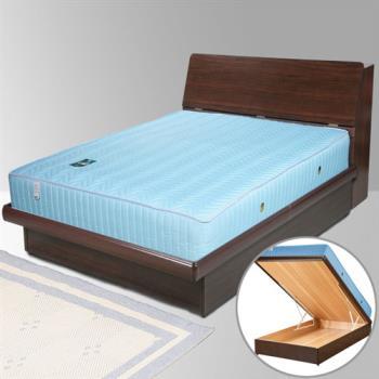 Homelike 諾雅3.5尺掀床組+獨立筒床墊-單人(二色任選)