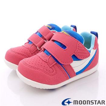 日本Carrot機能童鞋-新預防矯正學步款-CRB774粉-(12.5cm-14.5cm)