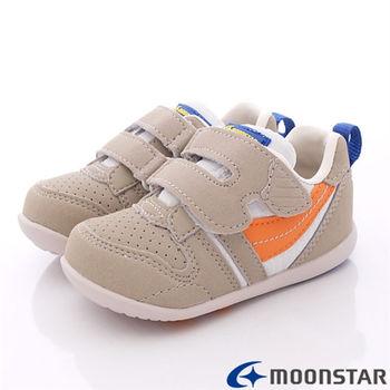 日本Carrot機能童鞋-新預防矯正學步款-CB771卡其-(12.5cm-14.5cm)