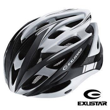 【Exustar】26孔自行車專用安全帽 (黒)