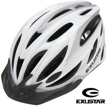 EXUSTAR 24孔自行車專用安全帽 (白)