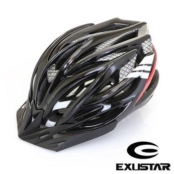 EXUSTAR 27孔自行車專用安全帽 (黑)