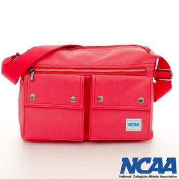 NCAA - 波特超級帆布款 防潑水肩斜二用方塊包 (共四色可選)
