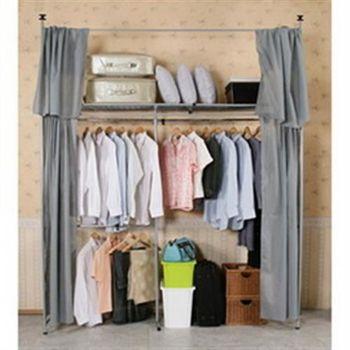 《CB》衣世家一般型日式頂天立地伸縮衣櫥