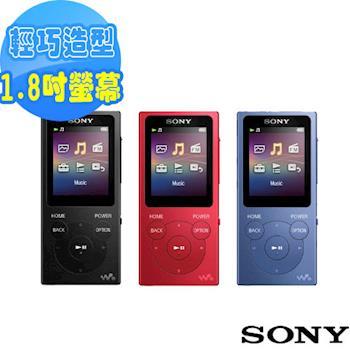 SONY Walkman 數位音樂播放器8GB NW-E394(公司貨)