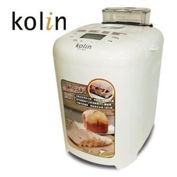 (福利品) 【Kolin歌林】智慧型自動投料製麵包機KT-LNB03 / 預約功能 / LCD顯示