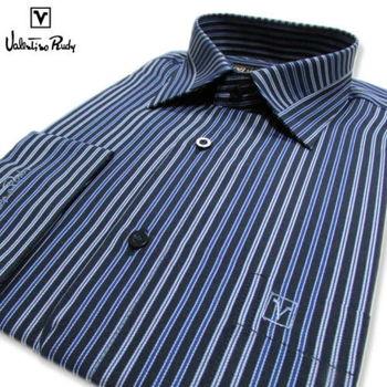 Valentino Rudy范倫鐵諾.路迪 長袖襯衫-藍色