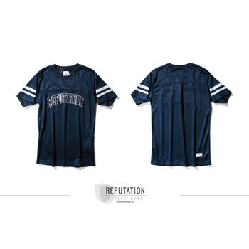 Reputation 美式球衣素材TEE /  藍