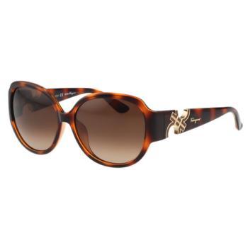 Salvatore Ferragamo- 時尚 太陽眼鏡(豹紋色)