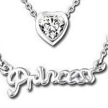 【米蘭精品】925純銀項鍊鑲鑽吊墜愛心字母造型獨特韓國