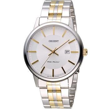 ORIENT 東方錶 SLIM系列 優雅紳士腕錶 FUNG8002W 雙色