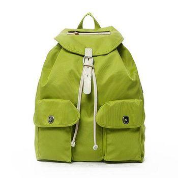 【Admiral】時尚女性都會休閒後背包-綠