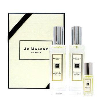 【航空限定版】Jo Malone 淡香水2入組 (黑石榴30ml+牡丹與胭紅麂絨30ml) (送) 同品牌隨機小香