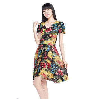 Beauty加大經典超彈性洋裝(4+2組)