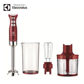 【伊萊克斯Electrolux】 專業級手持式攪拌棒ESTM6400R-網+GLASSLOCK保鮮罐(815ml)二入