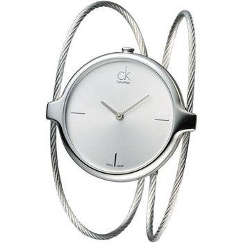 CK 風尚名媛時尚造型女錶-銀面(K2Z2S116)
