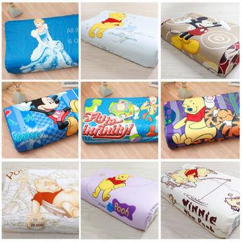 【R.Q.POLO】迪士尼系列 維尼/米奇/玩具總動員/米妮/天然乳膠 兒童乳膠枕(多款花色)