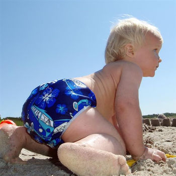 ImseVimse-超彈性防漏游泳尿褲(5款花色任選)