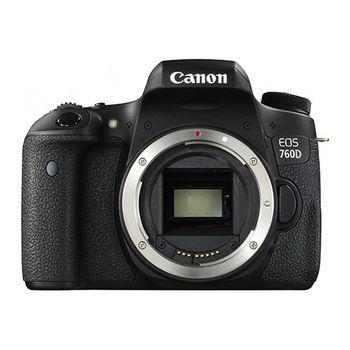 [64G+電充組]Canon EOS 760D BODY 單機身(公司貨)
