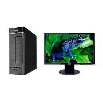 【ASUS華碩】K20CD G4400雙核 DDR4 Win10迷你PC+VE198T 19吋LCD 組