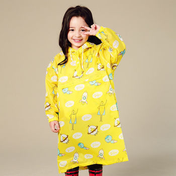 BrightDay香蕉人太空連身式風雨衣