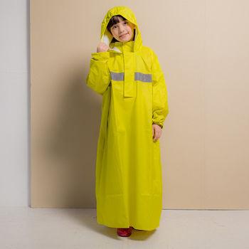 藏衫罩背背款-兒童背包太空連身式風雨衣