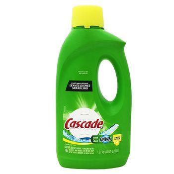 【美國 Cascade】洗碗機專用洗碗劑-檸檬3入組(45oz/1.27kg)