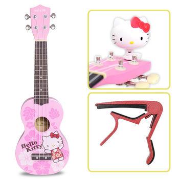 超值三件組 Hello Kitty 日本三麗鷗授權 烏克麗麗