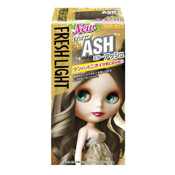 FRESHLIGHT 富麗絲 小布娃娃 染髮劑 銀雪灰