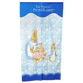 【BEDDING】蕾絲長門簾-藍 彼得兔家居系列