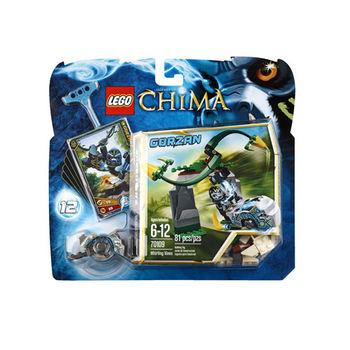 【LEGO 樂高積木】Chima 神獸傳奇系列 - 旋轉樹藤 LT 70109