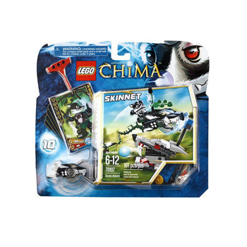 【LEGO 樂高積木】Chima 神獸傳奇系列 - 臭鼬攻擊 LT 70107