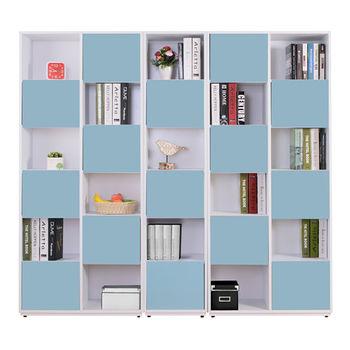 【AT HOME】蒂芬妮6.7尺彩色組合六單門書櫃(5色可選)