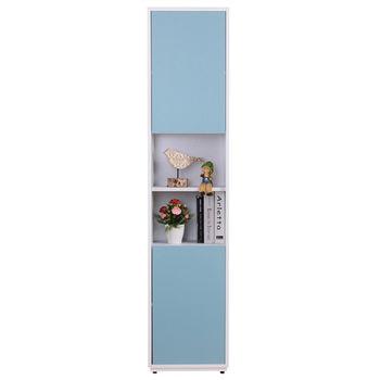 【AT HOME】蒂芬妮1.35尺彩色中空書櫃(5色可選)