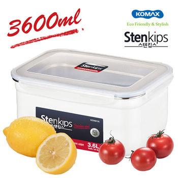 【韓國KOMAX】Stenkips不鏽鋼保鮮盒3.6L-72795