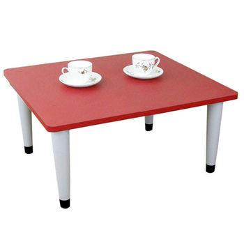 【Dr. DIY】寬60x深60/公分-和室桌/休閒桌/矮桌(喜氣紅色)三款腳座可選