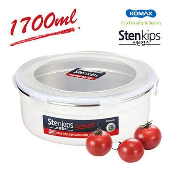 【韓國KOMAX】Stenkips不鏽鋼保鮮盒1.7L-72785