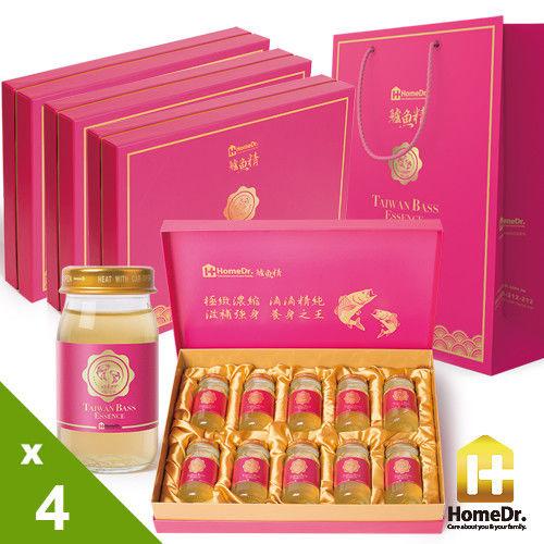 (加贈禮袋)Home Dr.鱸魚精4盒入(60mlx10瓶/盒)